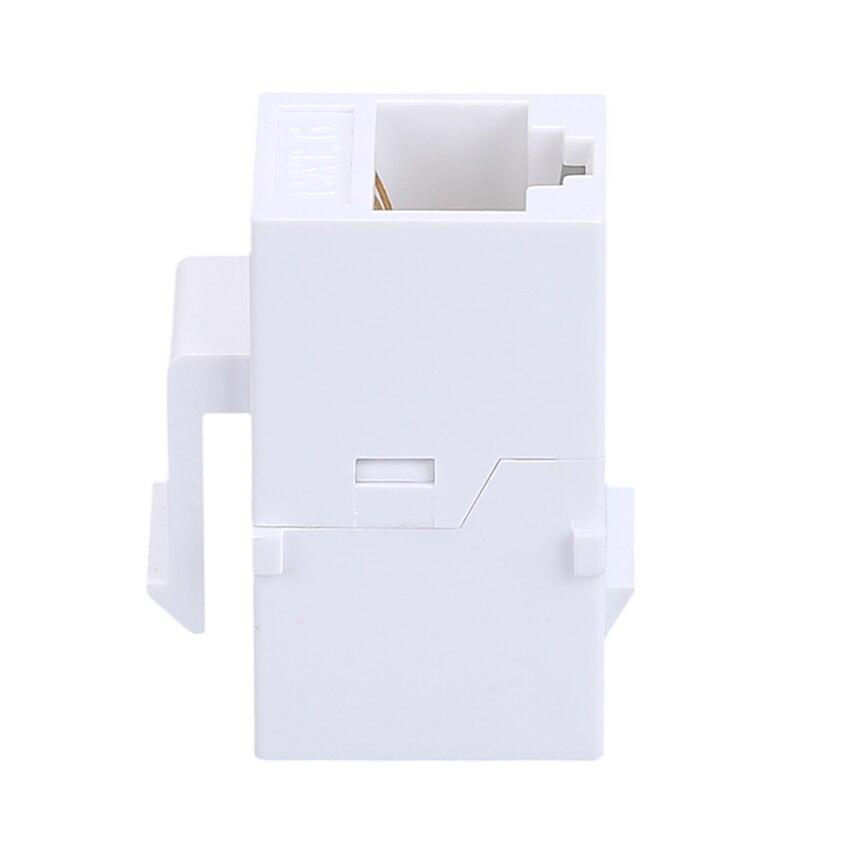 5 шт. CAT6 Ethernet-кабель Extender end-to-end адаптер 8P8C RJ45 адаптер сети через расширение CAT6 модуль для пустой Панель