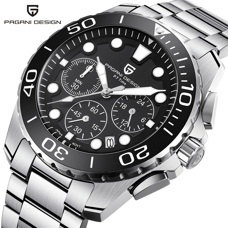 Men's Watch PAGANI Sports Design Chronograph