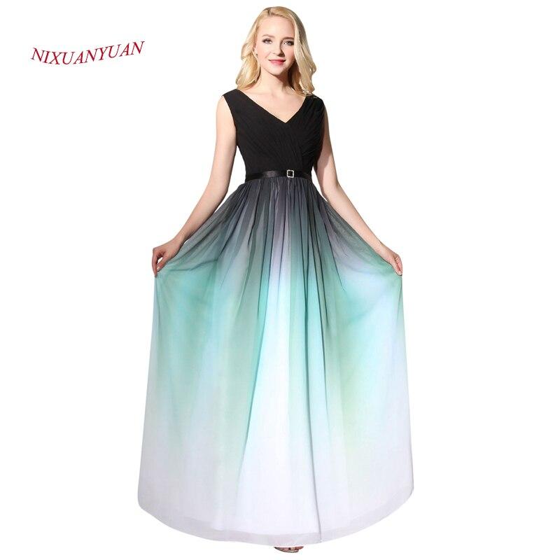 NIXUANYUAN 2017 Elegantna pletenka Robe De Soiree Line večerna - Obleke za posebne priložnosti