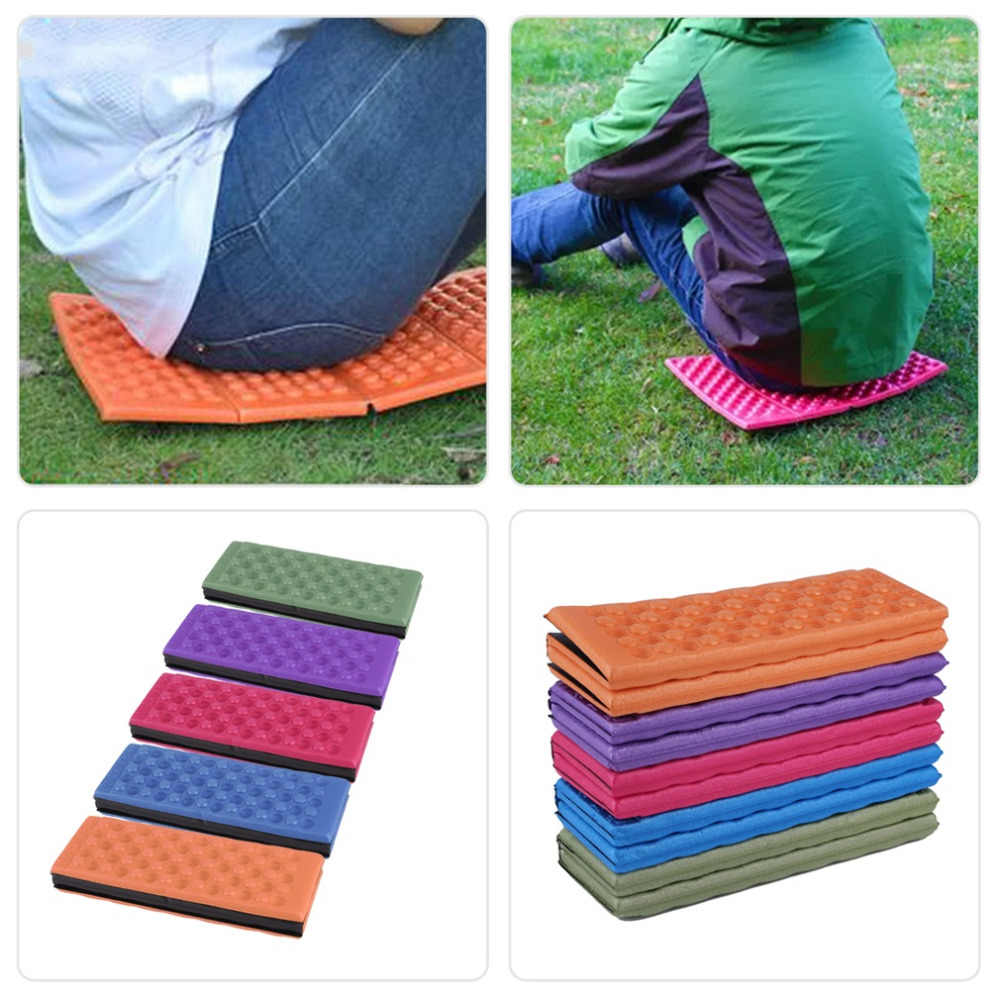 1x Foldable Camping Foam Seat Cushion Sitting Mat Outdoor Hiking Picnic Pad Ly