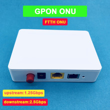 1pcs GPON ONU FTTO 1GE GPON 1port FTTH ONU ONT Single LAN Port OLT 1.25G Gpon ZTE Chipset Fiber to home FTTB(China)
