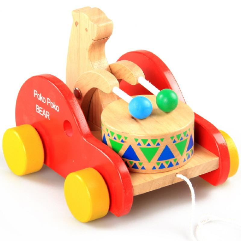 Wholesale Baby Toys : Online buy wholesale wooden walker trolley from china