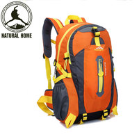 NaturalHome Brand 40L Outdoor Climbing Bags Waterproof Hiking Bag Sports Backpack Camping Pack Mountaineer Climbing