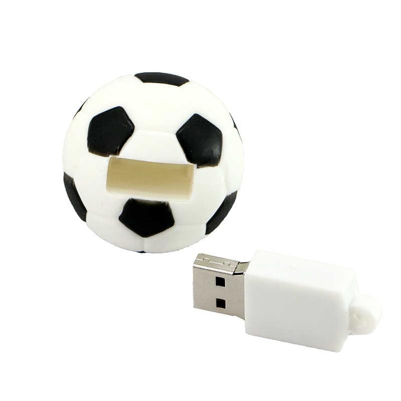 Rugby Football clé USB 128GB lecteur Flash 64GB 32GB 16GB 8GB creative vo stylo lecteur Personalizado basket-ball Tennis mémoire bâton