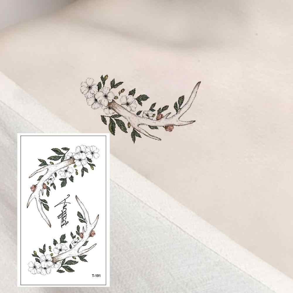 T-191 Twig flower fashion explosion section temporary tattoo sticker detachable waterproof body arm chest shoulder suitable
