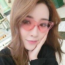 20 Colors cateye women sunglasses high quality fashion sun glasses for women small sunglasses lady glasses designer brand luxury цена 2017