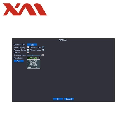 analys nvr dvr rede digital vidoe registro