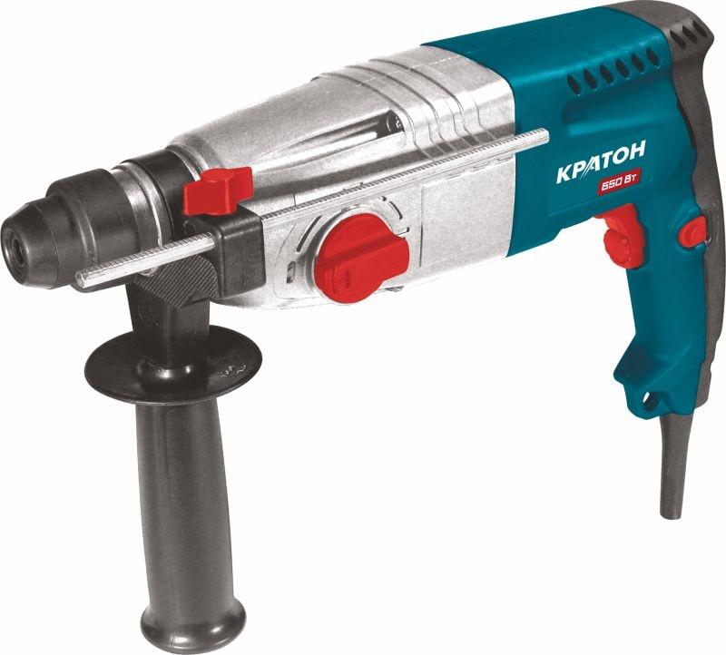 Rotary hammer KRATON RHE-650-24 B 650 W 0-1000 rev / min 2.2Dzh SDS + 24mm 3 modes metal gearbox in a box перфоратор кратон rhe 450 12 3 07 01 022