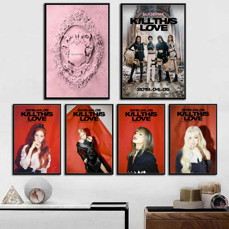 BLACKPINK Jennie Jisoo Lisa Rose Kpop ulzzang 2019 Home