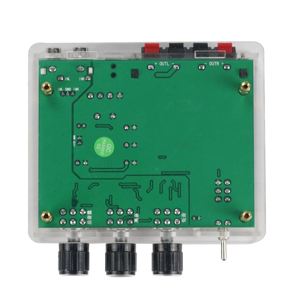 Image 3 - Стереоусилитель GHXAMP TPA3116D2 80 Вт * 2, аудиоплата TPA3116, цифровой усилитель звука, преусилитель тона, высокая мощность, DC12 24V, 1 шт.amplifier audioamplifier sounddigital amplifier -