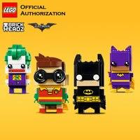 LEGO Building Blocks Toys Brick Headz Series Batman Toys Model Funny Joker Block lego Little Box Brinquedos For Birthday Gift