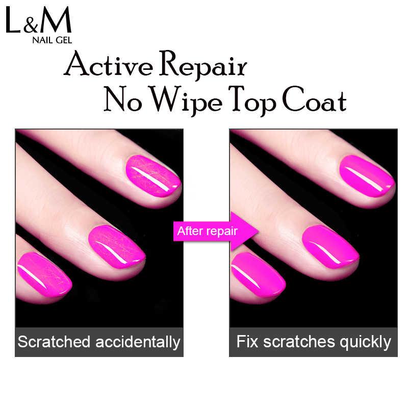 1 pieza ibdgel brillante recuperar no limpiar la capa superior UV Gel uñas salón Base capa mate fuera profesional uñas de Gel remojadas