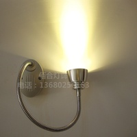 NEW 3W Led Spotlights Wall Mounted Hose Backdrop Painting Elbow Snake Tube Book Light Clothing Front