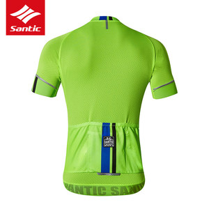 Image 4 - Santic Cycling Jersey Set Men Pro Team MTB Road Bike Bicycle Jersey Summer Sport Cycling Clothing Set Ropa Ciclismo 2019