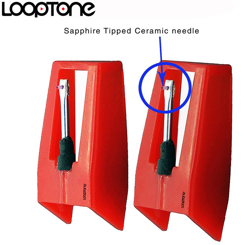 LoopTone 2PCS շափյուղա խոզանակով կերտված - Տնային աուդիո և վիդեո - Լուսանկար 3
