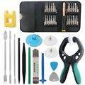 DIYFIX 38 en 1 Pantalla Del Teléfono Móvil Reparación Alicates de Apertura kit de herramientas de desmontar la herramienta de la palanca del destornillador fijado para el iphone samsung sony