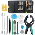 DIYFIX 38 in 1 Mobile Phone Screen Opening Pliers Repair Tools Kit Screwdriver Pry Disassemble Tool Set for iPhone Samsung Sony