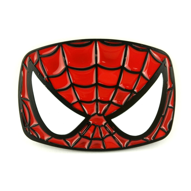 Drop shipping Retail wholesale <font><b>marvel</b></font> <font><b>comics</b></font> superhero <font><b>Spiderman</b></font> <font><b>belt</b></font> buckle cool metal <font><b>belt</b></font> buckles for men <font><b>belts</b></font> accessories