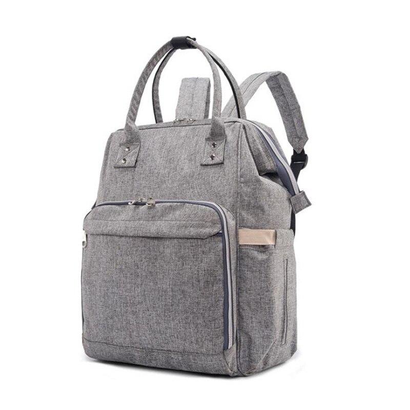 Mode Mumie Mutterschaft Windel Rucksack Tasche 38*36*24 cm, Große Kapazität Mama Tasche Multifunktions Outdoor Reise kinderwagen Pflege Tasche