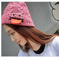 Asia Hotsale Mix Color Spit Tongue Design Hat Adult Knitting Tongue Hat
