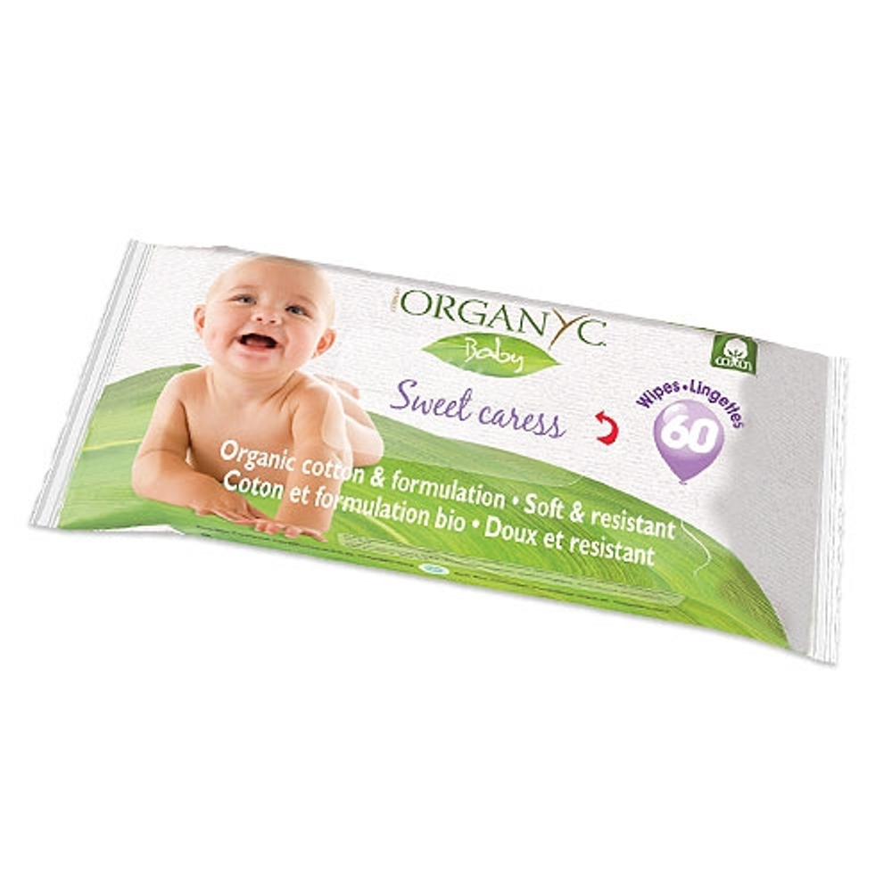 Wet Wipes ORGANYC ORGNC2637 wet cloth for kids cleansing wet wipes pampers sensitive 56 pcs
