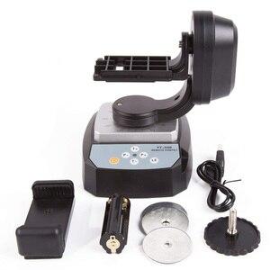 Image 5 - HFES ZIFON YT 500 Control remoto automático Pan Tilt motorizado giratorio Video cabeza de trípode para iPhone 7/7 Plus/6/6 Plus Smartphone