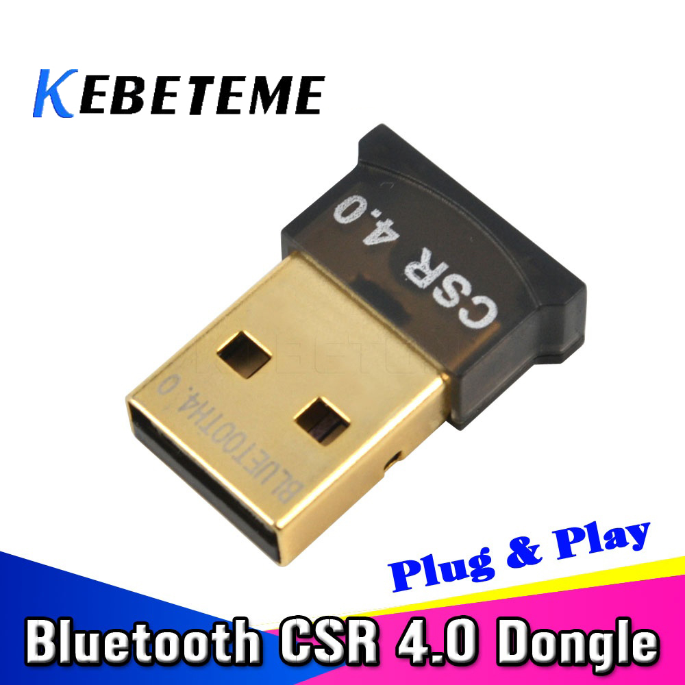 100% Wahr Kebeteme Mini Usb 2.0 Bluetooth Version 4.0 Adapter Wireless Dongle Edr Adapter 3 Mbps Für Laptop Notebook Tablet Computer Spezieller Sommer Sale