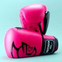 High Quality Brand Brazil PRETORIAN Twins Muay Thai PU Leather Boxing Gloves Women Men Training MMA