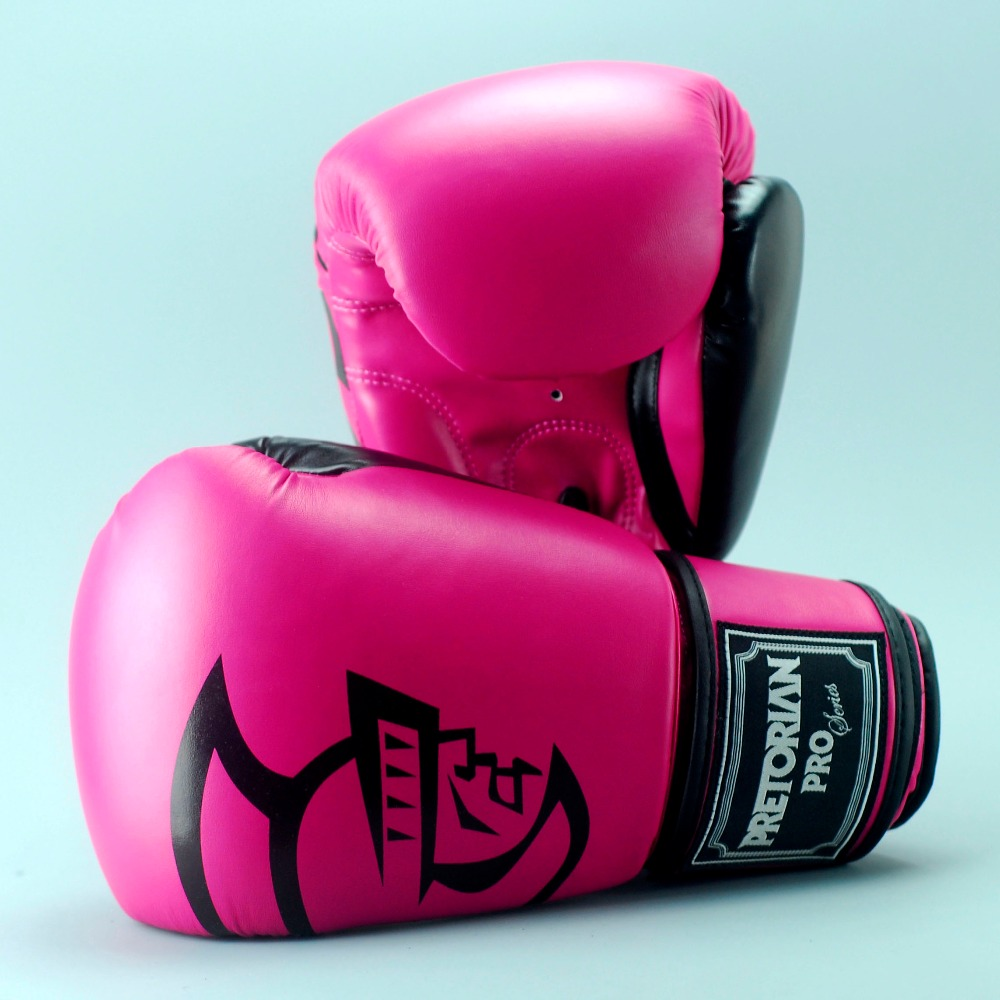 Shiv Naresh Teens Boxing Gloves 12oz: High Quality Brand Brazil PRETORIAN Twins Muay Thai PU