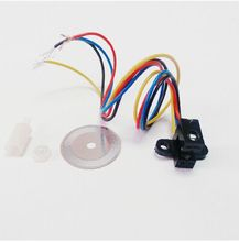1pcs/lot 100% new Photoelectric Speed Sensor Encoder Coded Disc code wheel Smart car(China (Mainland))
