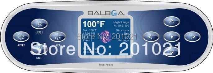 Balboa TP800 LCD Menu base Top Side Controller 9 Button with LCD display PN 50261Balboa TP800 LCD Menu base Top Side Controller 9 Button with LCD display PN 50261