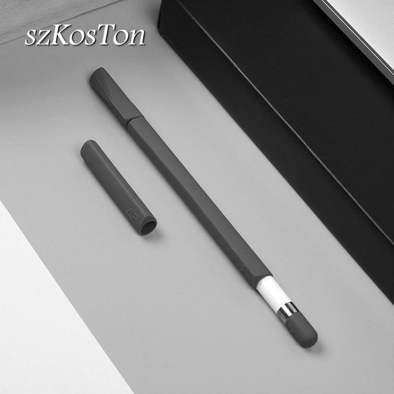 Non-Slip Silicone Cover Case For Apple Pencil Stylus Pen Protective Wrap Kit Case For Apple IPad Pro Pencil For Ipencil Case