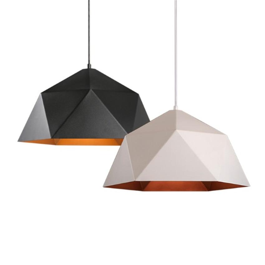 Nodic Loft LED Pendant Lights Industrial Decor Iron Pendant Lamps E27 Led Home Hanging Lamp Lighting Kitchen Fixtures Luminaria