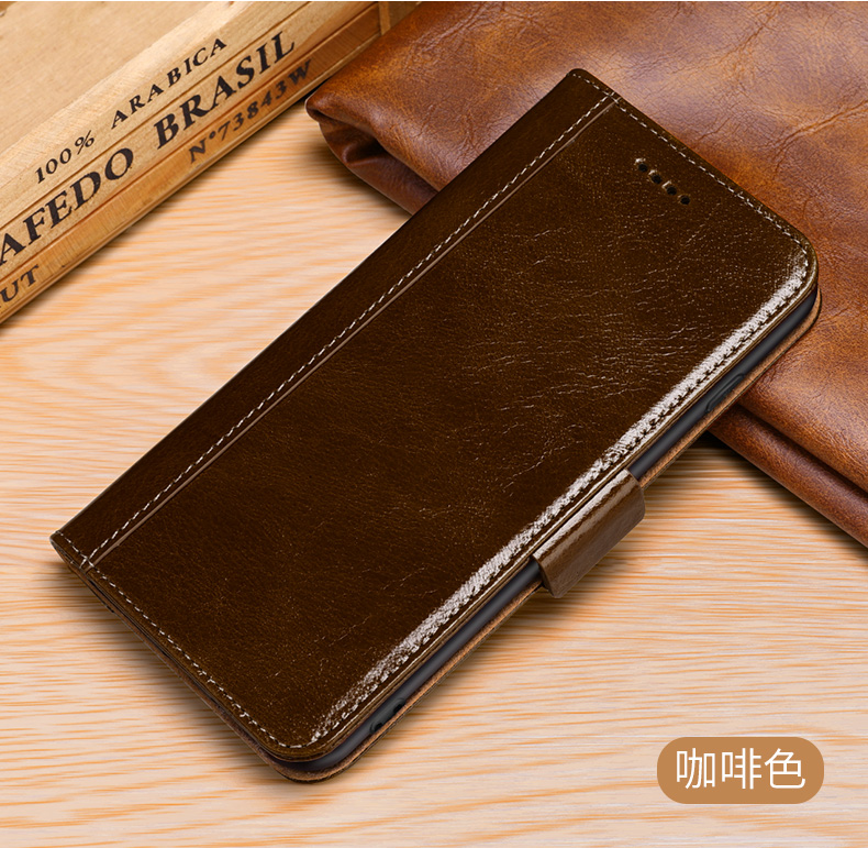 Real Genuine Leather Flip Cover Protect Fundas Case For Samsung Galaxy S8 S9 Plus Note 8 Retro Vintage Wallet Case For S9+ S8+