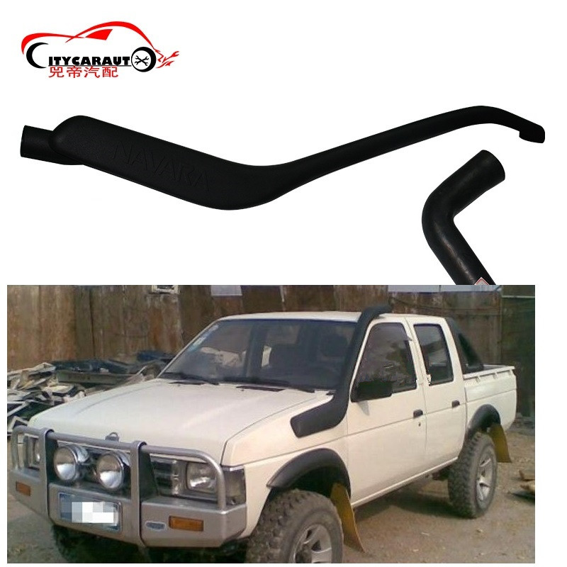 CITYCARAUTO NAVARA D21 TERRANO LLDPE EXTERIOR AUTO PARTS AIR INTAKE PARTS AIR FRESH SNOKEL FIT FOR NISSAN NAVARA D21 TERRANO citycarauto snokel kit fit for 2016 2017 ranger t7 xlt xl wildtrak air intake lldpe snorkel kit set auto 4 4 accessories