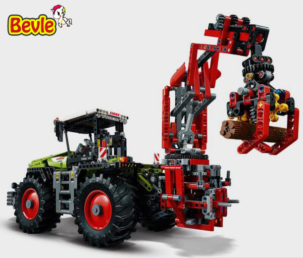 LEPIN 20009 1977Pcs Technic Claas Xerion 5000 Trac Vc Model Building Kit Figures Blocks Brick Toy Gift 42054 siku трактор claas xerion 5000