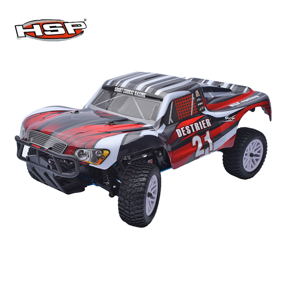 Original HSP 1/10 Scale 2.4GHz RTR 18cxp Nitro / Gas 4WD Radio Remote Control RC Short Course Truck 94155 двигатель super tigre 18 nitro купить
