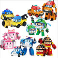 6pcs/Set Robocar Poli Transformation Robot Car Toy Korea Poli Robocar Anime Action Figure Toys For Kids Gift