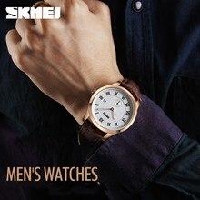 Skmei Мужчины Часы Часы Бизнес Студента Часы Наручные Часы Моды Кварцевые Водонепроницаемые