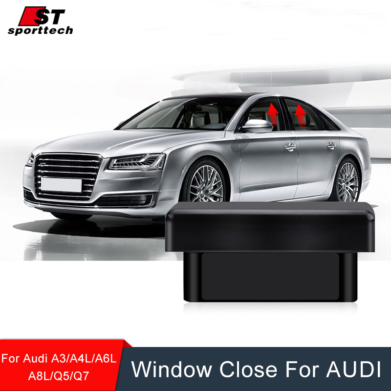 Окно ближе для Ауди A3/A4L/A6L/А8/В5/В7 силы автомобиля окно рулон вверх ближе/близко окна для Audi 2009-2017Accessories
