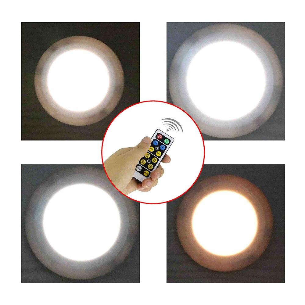 Showcase Warm//White 85-265V 3W LED Puck Light for Kitchen Counter Bookshelf