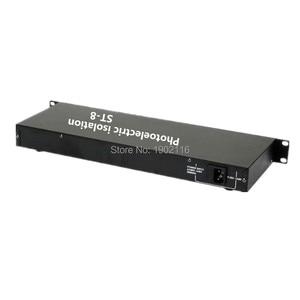 Image 4 - Foto elektrische Isolatie 8CH DMX Splitter/DMX Podium Licht Signaal Versterker Splitter/8 Manier DMX Distributeur Met Optische Isolatie