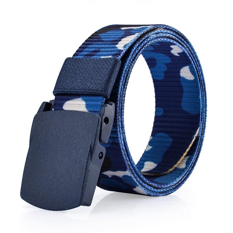 2017 Designer Gürtel Für Männer Top Qualität Tarnung Leinwand Gürtel Männer Militärische Ausrüstung Cinturones Hombre Taktische Gürtel Marke Gute QualitäT
