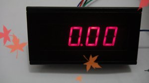 Free shipping 3 1/2 Digital Red LED 20V DC Volt Voltage Panel Meter Designed to measure and display electronic products voltage