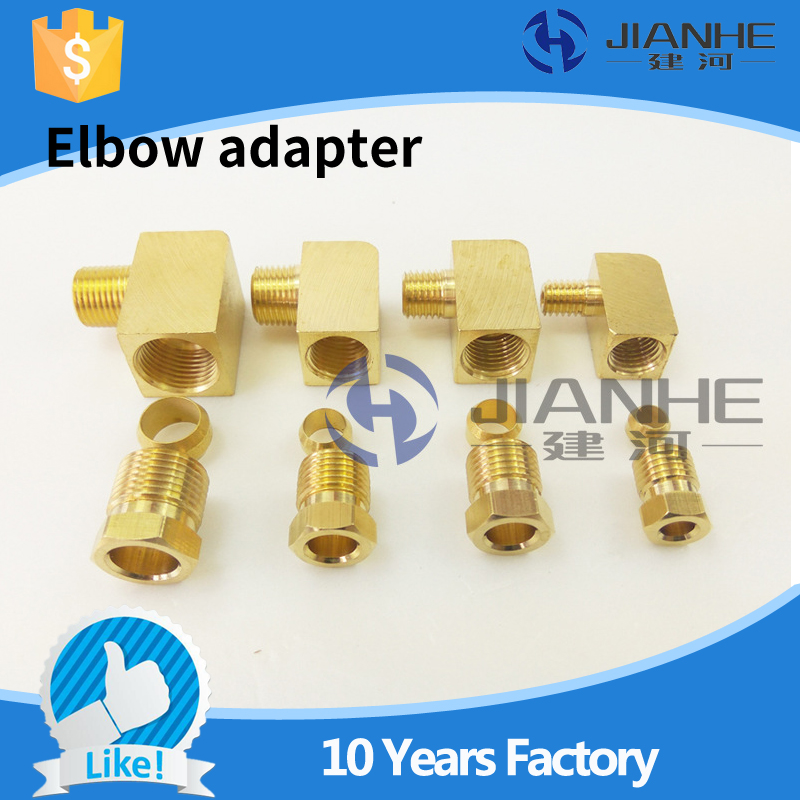 Buy JIANHE JN type lubrication Brass oil Pipe Fitting 4mm/6mm  Fitting Connector Lubrication System/CNC Machine