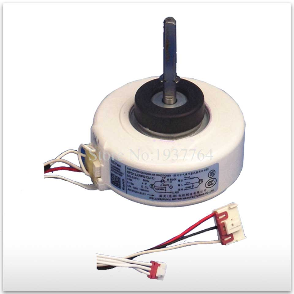 100% new for air conditioner motor RPG13J (RPG13J-1) Fan motor good working ups ems dhl 95% new good working for air conditioner inner machine motor fan ydk50 8g 3 7 line