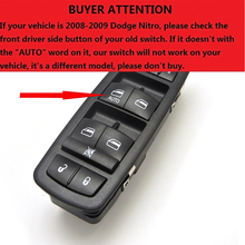 4602632AG Master Power Window Door Switch For Jeep Liberty & Dodge Journey Nitro 4602632AF