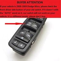 Power Window Switch For Dodge Journey Nitro For Jeep Liberty 2008 2009 2010 2011 2012