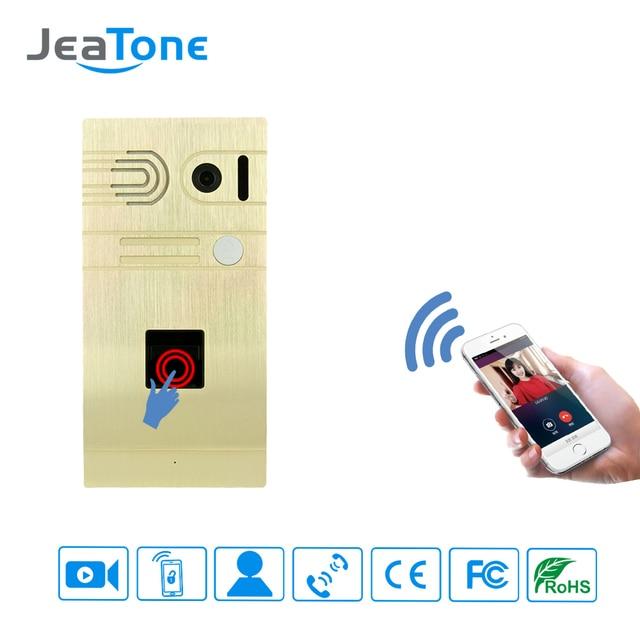 1.3MP Camera Wifi Doorbell And Fingerprint Security Camera Wireless Video Intercom  IOS/Android  Phone System Control Door Lock