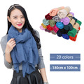 2016 new Autumn Winter Hot selling women's fashion casual Scarf Hot Cheap wholesale 180*100 cm 50038